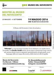 Claudio Sinatti in mostra al Museo del Novecento