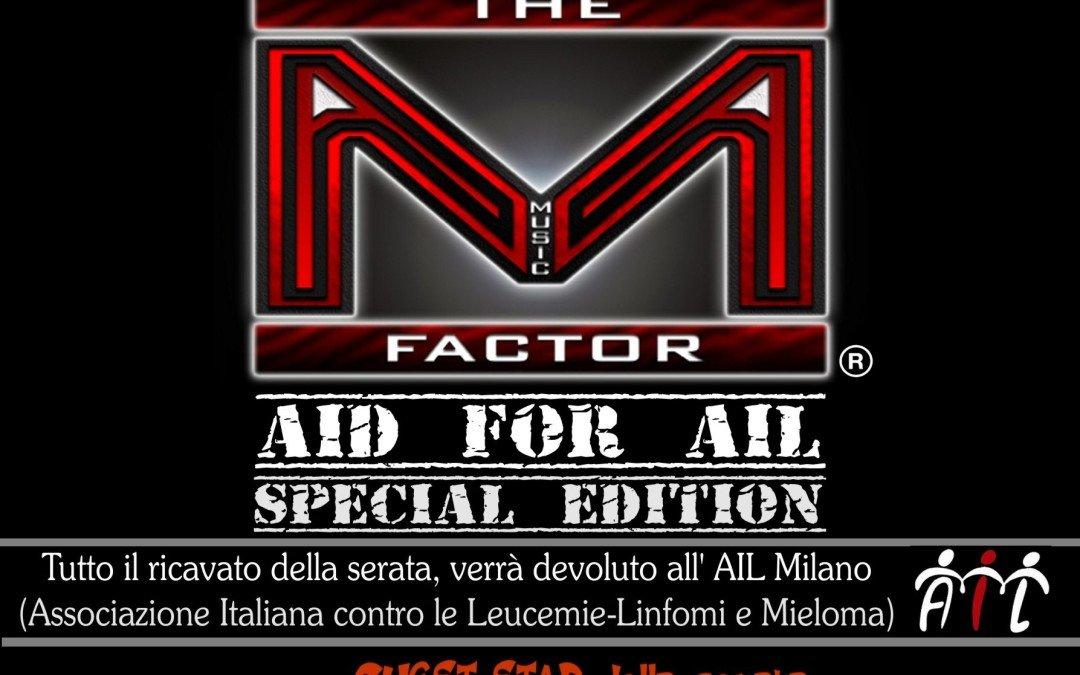 The Music Factor, a Cisliano una serata a favore di AIL