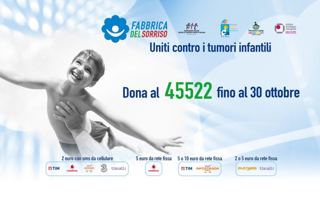 Anche AIL Milano supporta la Fabbrica del Sorriso!