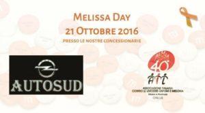 Melissa Day, il 21 ottobre