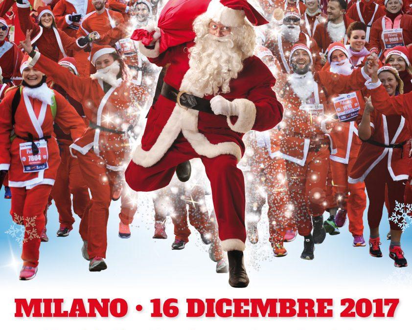 Supporta AIL Milano camminando o correndo il 16 dicembre