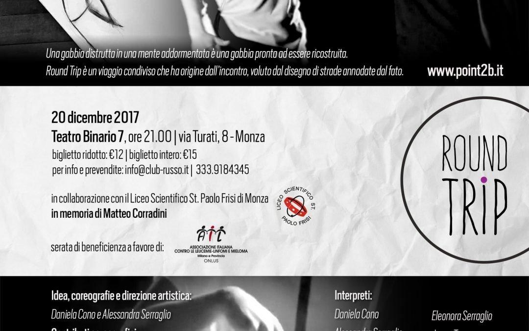 Point2b e il loro spettacolo a favore di AIL Milano – Monza, 20 dicembre