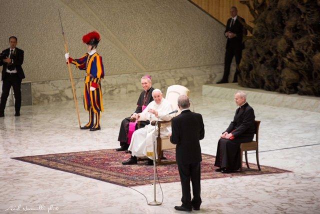 Papa Francesco incontra AIL