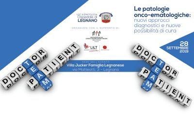 Le patologie onco-ematologiche: il 28 settembre a Legnano si terrà il primo convegno d'informazione targato  UOC