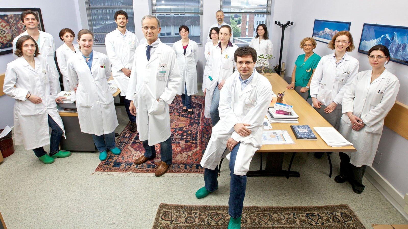 Team Ematologia Istituto Nazionale Tumori