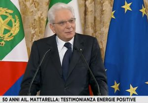 Giornata nazionale per la lotta contro leucemie, linfomi e mieloma: Mattarella ricorda il prof. Mandelli e celebra i 50 di AIL