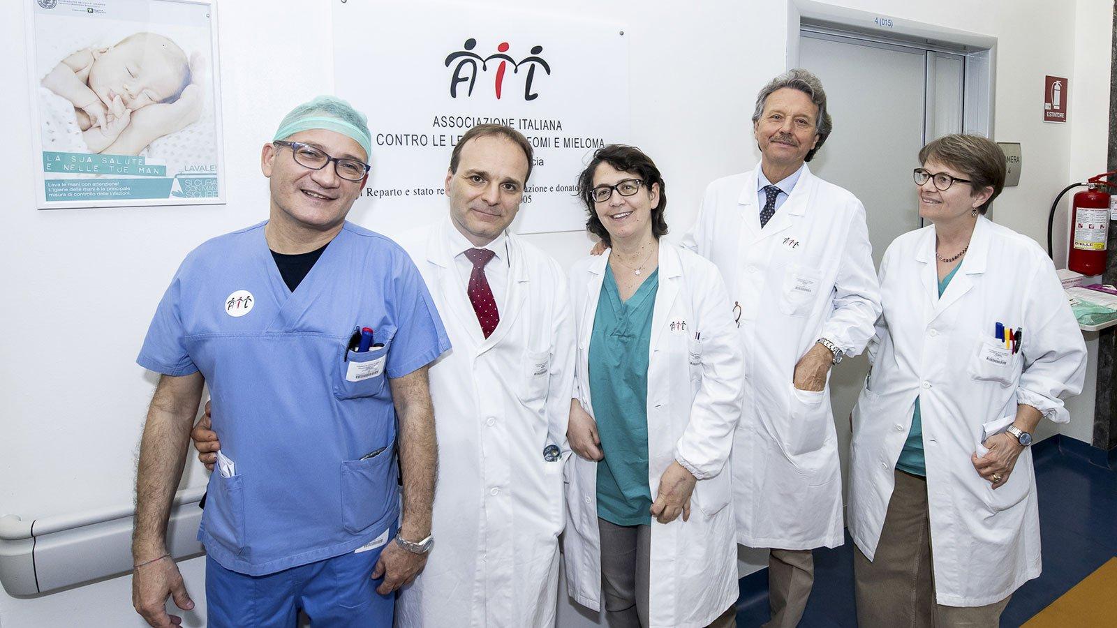 Reparto di Degenze di Ematologia della Fondazione IRCCS Cà-Granda – Ospedale Maggiore Policlinico