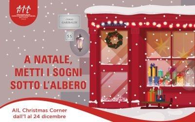 AIL Christmas Corner apre in Corso Garibaldi dall'1 al 24 dicembre