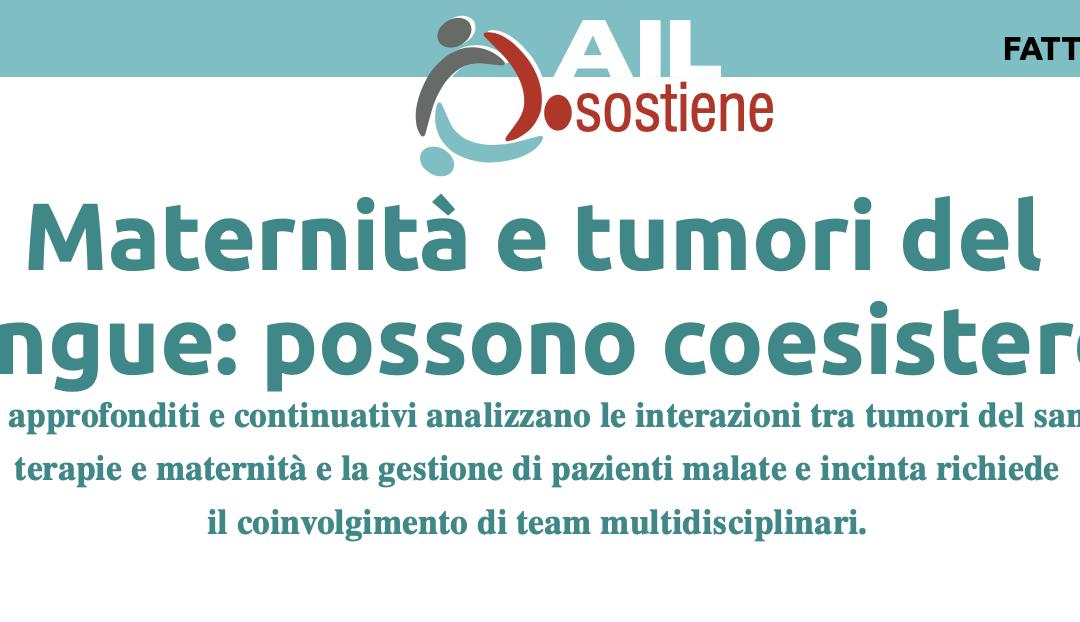 Maternità e tumori del sangue